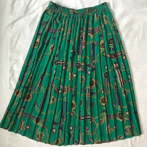 Vintage pleated skirt Alfred Dunner